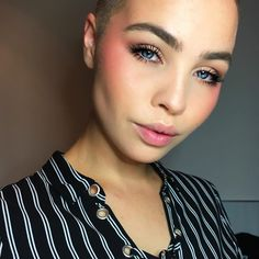 """2,636 Likes, 33 Comments - CELINE BERNAERTS (@celine_bernaerts) on Instagram: """"[BLUSHIN'] ; the act of overdoing your #blush ; Using Kiss & Blush by @yslbeauty"""""""