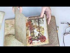 Woodland Walks Journal travel Kit