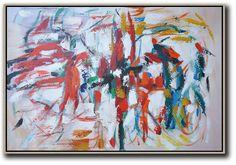 Horizontal Contemporary Art #XB54C #acrylic-painting #Biao-Zheng #Contemporary