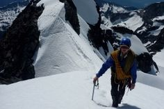 How to train for mountain climbing/mountaineering.