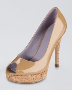 Cole Haan Air Mariela Peep-toe Patent Pump!!!  I want them!!!   Nike Air!!  Comfort gone crazy!!!