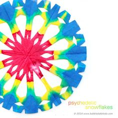 Make a Psychedelic Snowflake