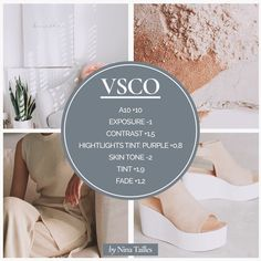 Neutral Beige Instagram Theme. How to create a branded Instagram feed using VSCO app.