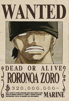 Zoro's former wanted poster. Zoro's current wanted poster. Zoro as a child. Zoro on Volume One Piece Figure, One Piece Manga, One Piece Drawing, Zoro One Piece, One Piece Comic, Roronoa Zoro, One Piece Pictures, One Piece Images, Monkey D Luffy