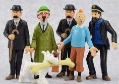 Playset Tintin - Aventuras De Tintin - 6 Bonecos - R$ 149,90