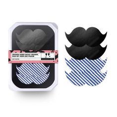 Sexy Nipple Pasties Moustache, 11€, now featured on Fab.