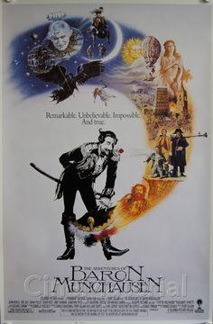 The Adventures of Baron Munchausen US movie poster, 1988