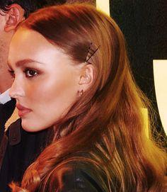 Le beau profil de Lily @fabrizio Lily Depp, Lily Rose Melody Depp, Beauty Makeup, Hair Beauty, Wedding Makeup, Hair Accessories, Celebrities, Hair Styles, Plus Belle