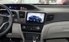 "9"" Android Navigation Radio for Honda Civic 2012 #VWAmarokInterior"