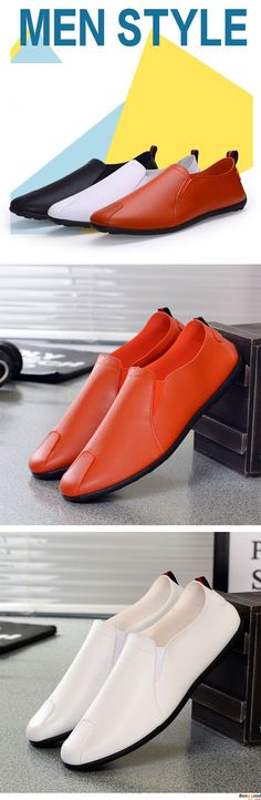US$19.87+ Free Shipping. 2 colors available.  Men loafers, casual comfortable shoes,  oxford shoes, boots, Fashion and chic, casual shoes, men's flats, oxford boots,leather short boots,loafers, casual oxford shoes,slip on  men's style, chic style, fashion style.  Shop at banggood with super affordable price. #men'sshoes#men'sstyle#chic#style#fashion#style#wintershoes#casual#shoes#casualshoes#boots#oxfordshoes#loafers#slipon#flats