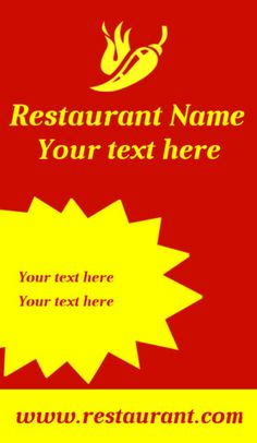 Banner Stand Template | Sign4X Restaurant Names, Banner Stands, Custom Banners, Templates, Stencils, Western Food