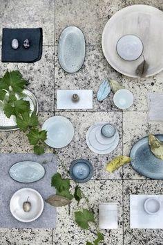 Broste Copenhagen - Bowl 'Nordic Sea' Stoneware D - Distelroos