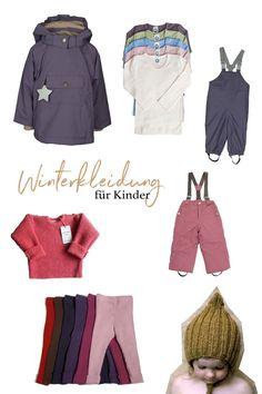 Winterkleidung für Kinder, Schneehose, Wollwalkjacke, Regenhose, Matschhose, Mützen und Handschuhe. Funktionskleidung für Kinder