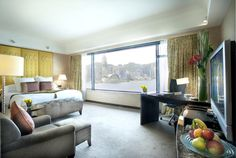 InterContinental Hong Kong #hotel Deluxe Harbour #view #room