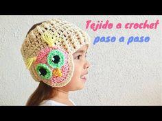 Crochet Headband Free, Crochet Baby Hats, Crochet Beanie, Crochet For Kids, Knitted Hats, Knit Crochet, Crochet Applique Patterns Free, Crochet Videos, Knitting Socks