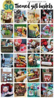 Christmas Gift Basket Ideas for Everyone The Dating Divas Dyi Gift Baskets, Themed Gift Baskets, Raffle Baskets, Basket Gift, Diy Christmas Gifts For Family, Christmas Gift Baskets, Christmas Holiday, Family Gifts, Homemade Christmas