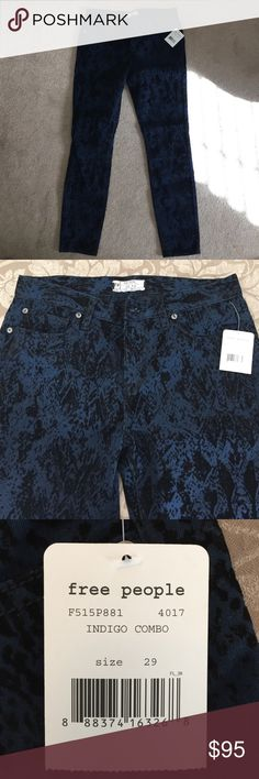 Skinny Pants These pants are a great design for any occasion, they have never been worn, still have tags. Condition is excellent Free People Pants Ankle & Cropped