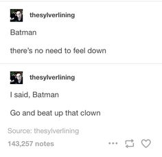 I can imagine Dick singing this and the rest joining in while Bruce regrets his entire life Nananana Batman, The Funny, Freaking Hilarious, Dc Memes, Im Batman, Detective Comics, Bat Family, Marvel Dc Comics, Tumblr Posts