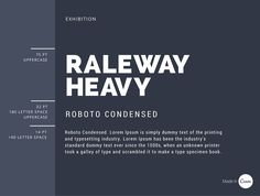 14 A great combination, the roundness of Raleway contrasts well with the condensed Roboto Condensed. A fine-weighted subheading offsets well against a heavier heading typeface. The rules of combining two fonts and style text with great examples. Guide to professional font pairing, type combination, to achieve a formal, minimalist branded look. Font pairing layout inspiration ideas, pairing sans serif with serif types, to find the best font pairs for your brand identity.