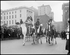Chief Bald Eagle rides to State House to visit Gov. Cox | Creator/Contributor: Jones, Leslie, 1886-1967 (photographer) Date created: 1922