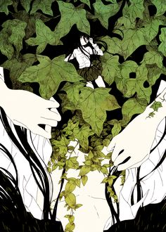 「深緑」 / 「まんださら」 (Nemuidas)