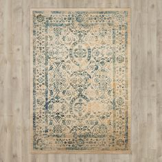 You'll love the Carissa Hand-Loomed Beige/Turquoise Area Rug at Joss & Main - With Great Deals on all products and Free Shipping on most stuff, even the big stuff.