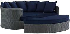 Modway Outdoor Sojourn Outdoor Patio Daybed Set (2 PC)