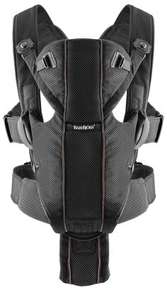 Baby Bjorn Miracle Carrier - Black Mesh - Best Price  #DiaperscomNursery