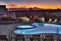 Hacienda Del Sol Guest Ranch Resort, Tucson Picture: Catalina Pool at Sunset - Check out TripAdvisor members' 19,183 candid photos and videos of Hacienda Del Sol Guest Ranch Resort