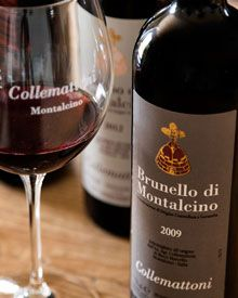 Collemattoni Vineyard, excellent Brunello and beautiful place to do a tasting when visiting Montalcino, Italy