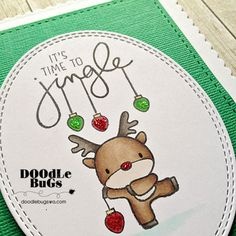 Doodlebugs: Reindeer Games from Mama Elephant