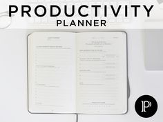 Intelligent Change is raising funds for Productivity Planner: Get More Done and Beat Procrastination on Kickstarter! The simplest, most effective method for getting meaningful work done everyday from the creators of the Five Minute Journal. Journal Template, Planner Template, Passion Planner, Life Planner, Planner Organization, Organizing, Day Planners, Note Paper, Journal Prompts