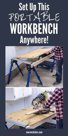 Kreg Track Horse is the Perfect Sawhorse for a Small Workshop Woodworking Projects That Sell, Woodworking Furniture, Diy Wood Projects, Fine Woodworking, Woodworking Crafts, Wood Crafts, Woodworking Articles, Woodworking Tutorials, Woodworking Jointer