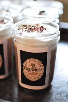 Guiness, chocolate and pudding! MUST make this:-)