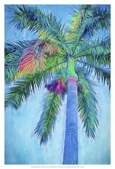 Palm Tree Art, Palm Trees, Types Of Photography, Fine Art Photography, Travel Photography, Flower Crown Drawing, Drawing Flowers, Art Tropical, Tropical Paintings