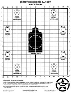 Free printable #shooting #targets available at www.evotechcorp.com/downloads.html #gun #rifle #ar15