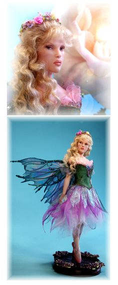 ballerina fairy titianna by patricia rose studio one of a kind ooak