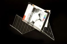 Portariviste in Plexiglass  Magazine rack
