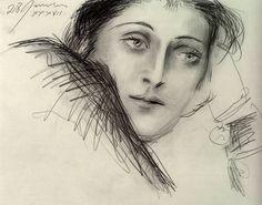 """Picasso - """"Portrait de Dora Maar"""". 1937"""