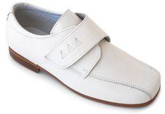 Zapato para de elegantes niño con amp; Cómodos Roly comunió velcro y Boots piel de Shoes Poly rYw0xvrI