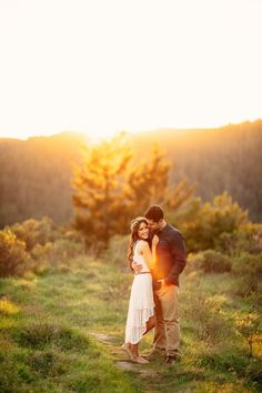 Dreamy Mt. Tamalpais State Park Engagement Photos