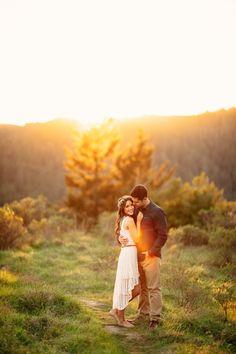 Dreamy Mt. Tamalpais State Park Engagement Photos | BrittRene Photography
