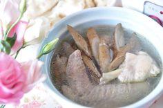 Burdock chicken soup