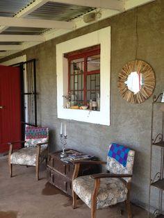 Smitswinkel roadside stall, between Oudtshoorn & Calitzdorp Outdoor Living Rooms, Outside Living, Outdoor Dining, Outdoor Spaces, Living Spaces, Knysna, South African Homes, Velvet Sky, British Colonial Style