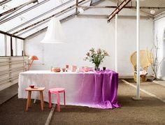 La maison d'Anna G. tablecloth !