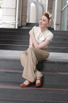 Viven Of Holloway | Swing Pants + Heart Of Haute — Miss Semi Sweet
