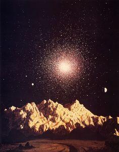 Globular Cluster by Chesley Bonestell