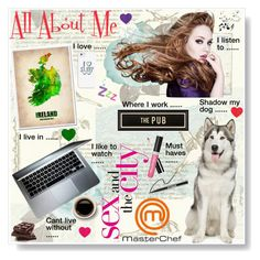 """""""All About Me"""" by sarah-crotty ❤ liked on Polyvore featuring art and allaboutme"""