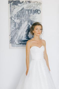 Minimal bridal portrait before she walks down the isle at an Old World micro wedding in Corfu island Corfu Wedding, Greece Wedding, Corfu Island, Island Weddings, Bridal Portraits, Old World, Walks, One Shoulder Wedding Dress, Hair Makeup