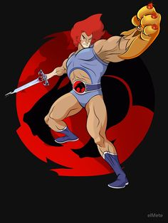 Thundercats Cartoon, He Man Thundercats, Retro Cartoons, Classic Cartoons, Gi Joe, Super Anime, Lion Shirt, Cat Character, Cartoon Logo